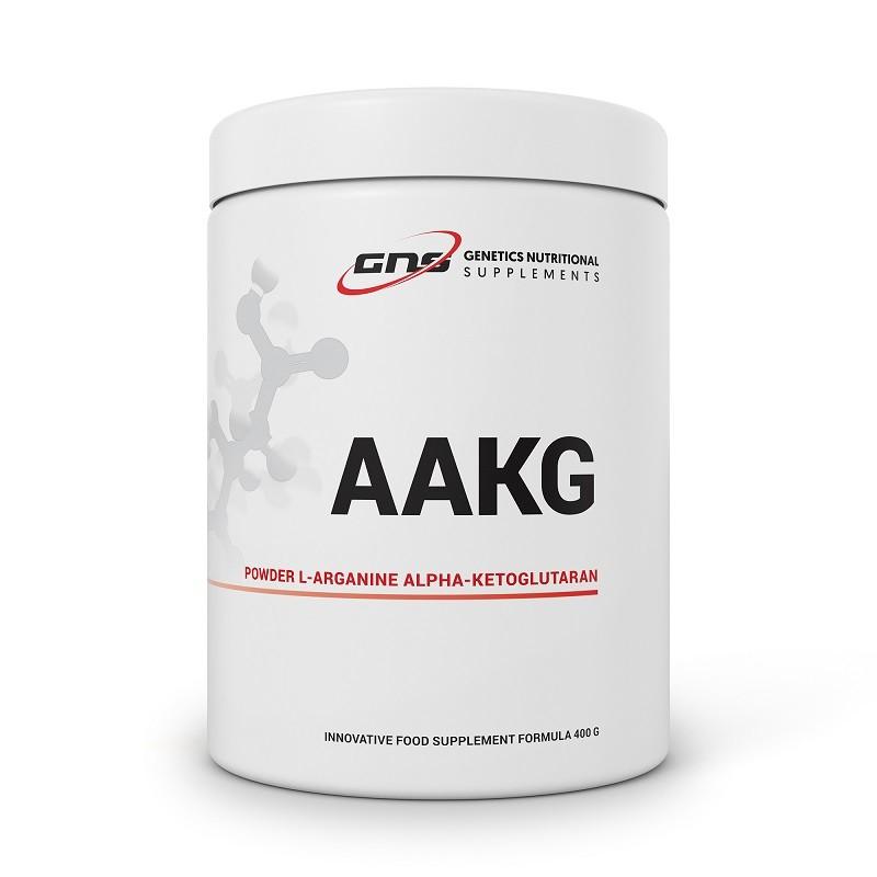 AAKG POWDER ALPHA-KETOGLUTARAN L-ARGANINE 400 G GENETICS NUTRITIONAL SUPPLEMENTS