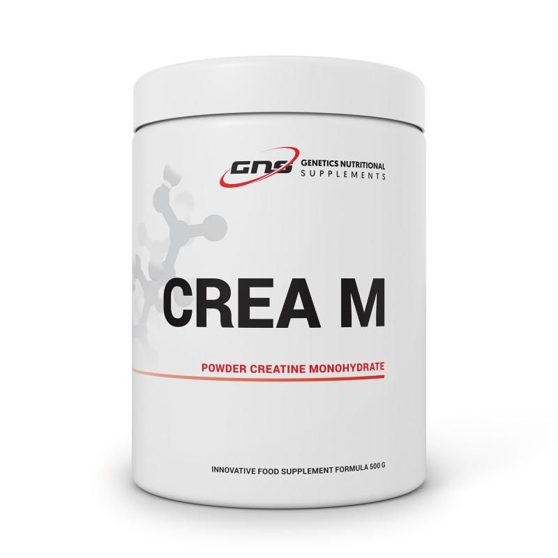 CREA M POWDER MONOHYDRATE CREATINE 500 G GENETICS NUTRITIONAL SUPPLEMENTS