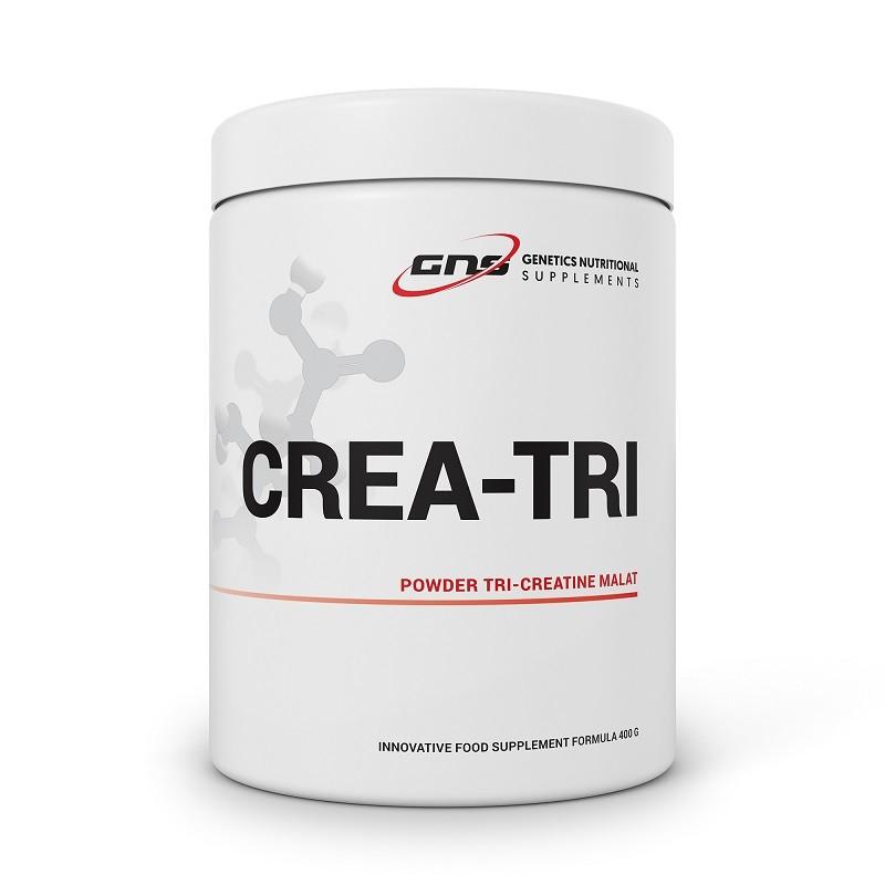 CREA-TRI POWDER TRICREATINE MALATE 400 G GENETICS NUTRITIONAL SUPPLEMENTS